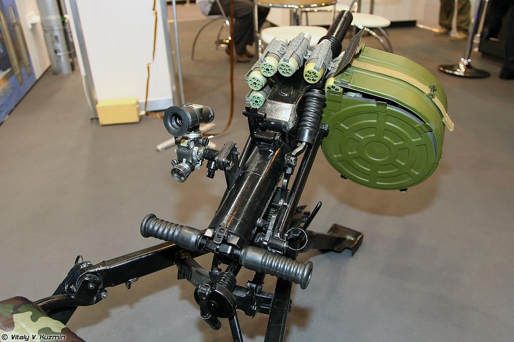Гранатомет АГС-40 (AGS-40 grenade launcher)