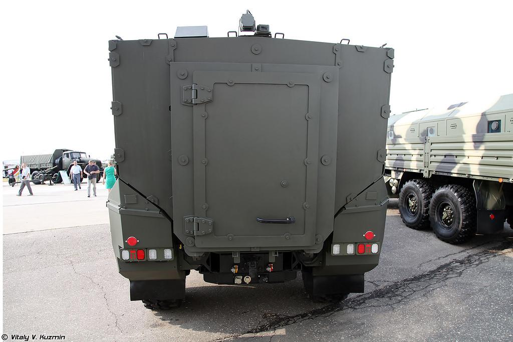 Бронеавтомобиль КАМАЗ-63968 Тайфун-К (KAMAZ-63968 Typhoon-K armored vehicle)