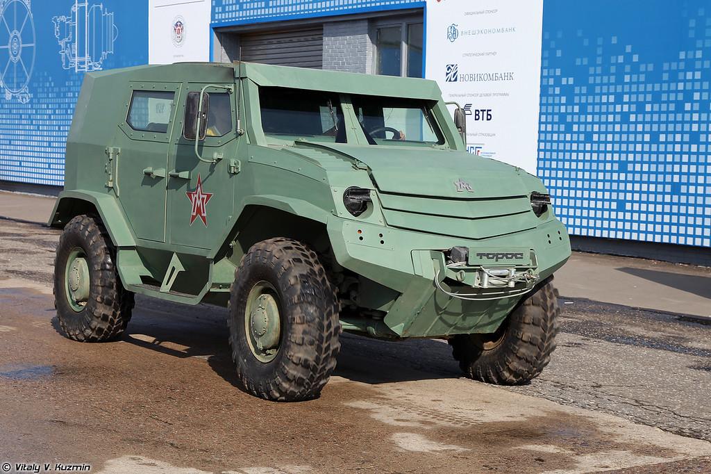 Бронеавтомобиль Торос базовый вариант (Toros armored vehicle)
