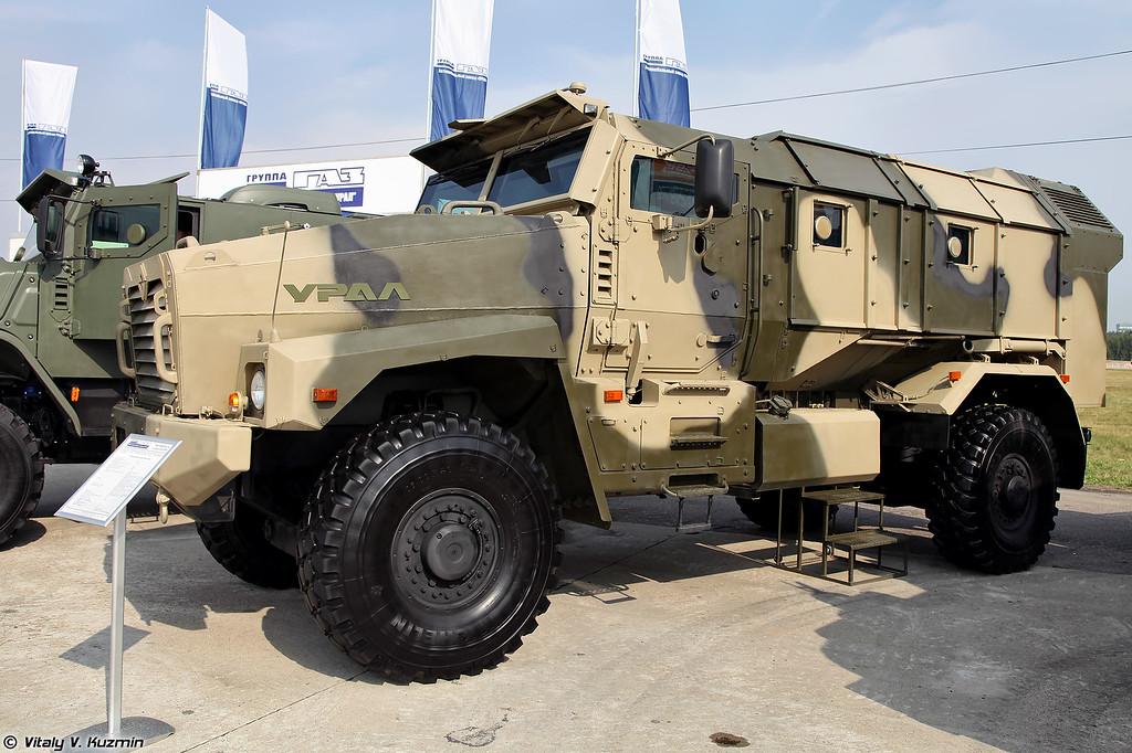 Бронеавтомобиль Урал-53099 (Ural-53099 armored vehicle)