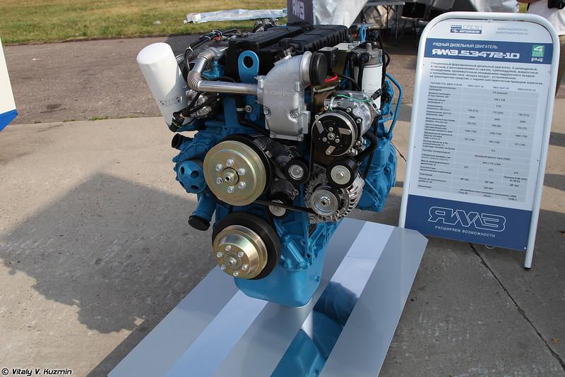 Двигатель ЯМЗ-53472-10 (YaMZ-53472-10 engine)