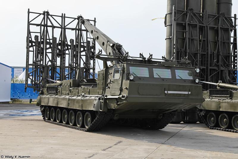 Пуско-заряжающая установка 9А85 из состава ЗРС С-300В (9A85 loader-launcher from S-300V)