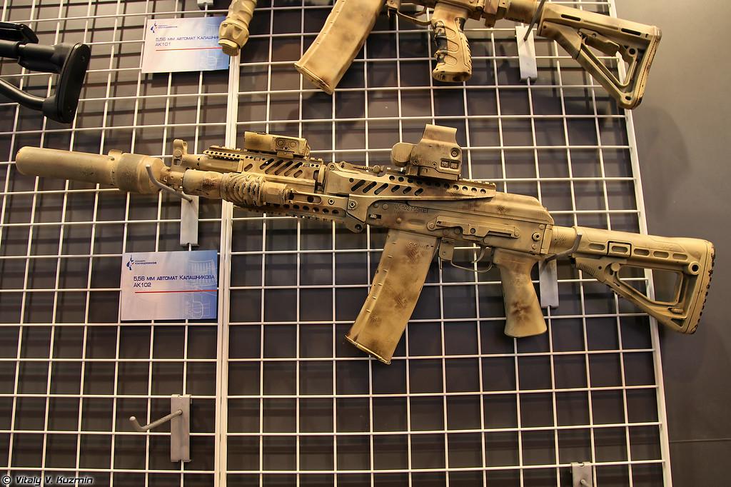 Автомат АК-102 (AK-102 assault rifle)