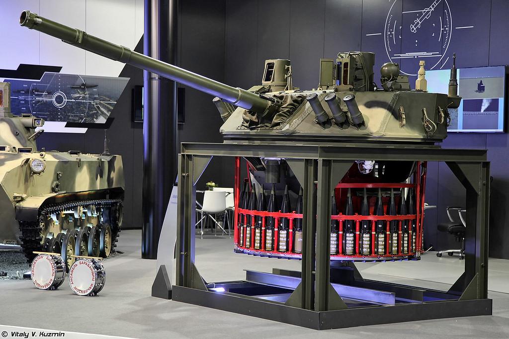 Боевой модуль Бахча (Bakhcha weapon module)
