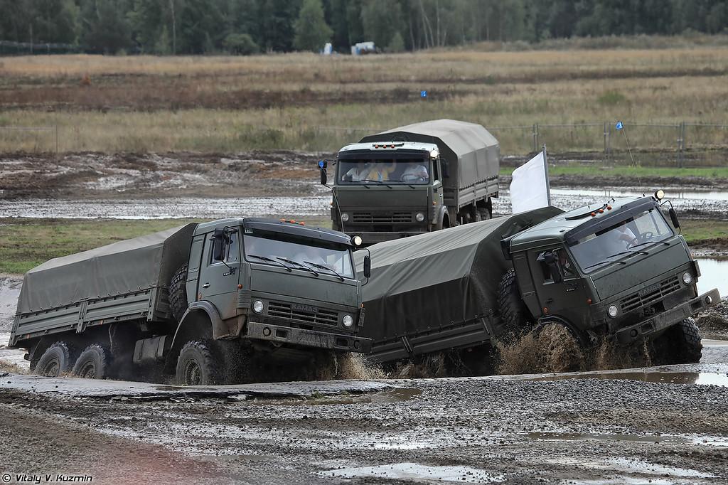 КАМАЗ-5350 и КАМАЗ-4350 (KAMAZ-5350 and KAMAZ-4350)