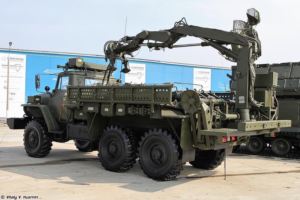 Транспортно-заряжающая машина 9Т244 для ЗРК Тор (Transloader 9T244 for Tor system)