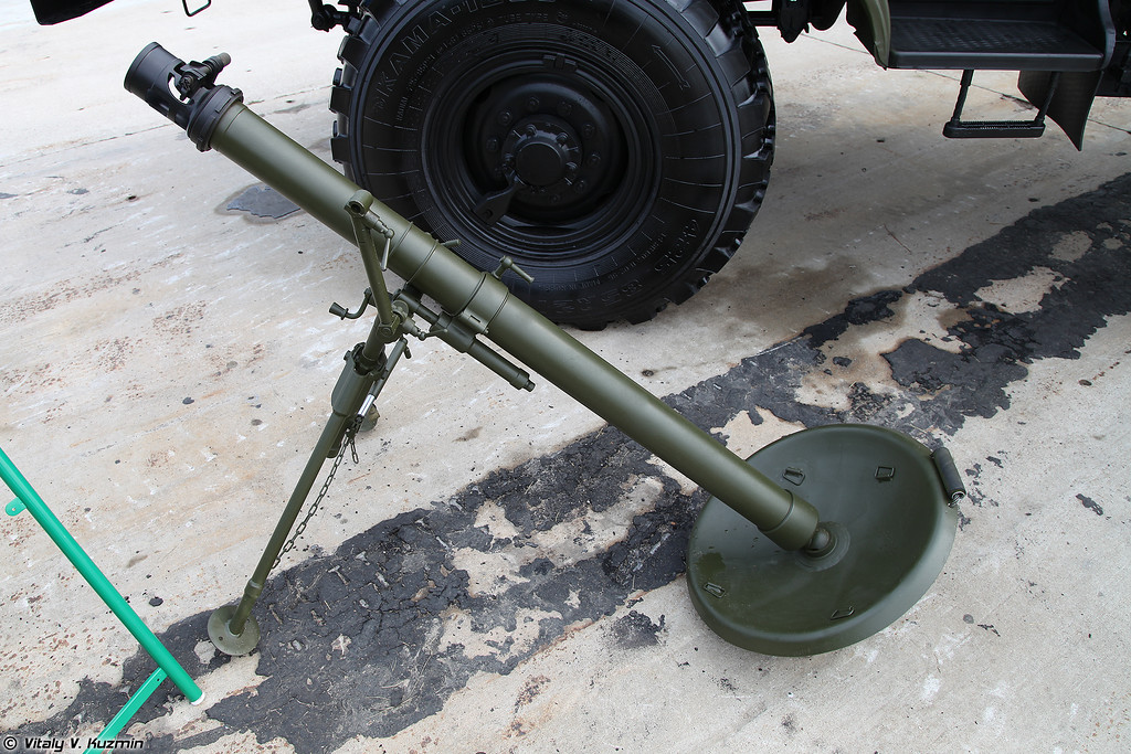 82-мм миномет 2Б14 Поднос (82mm mortar 2B14 Podnos)
