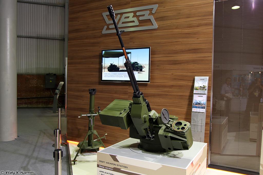 Турельная установка 6С21 исп. 01 (6S21 mod. 01 weapon station)