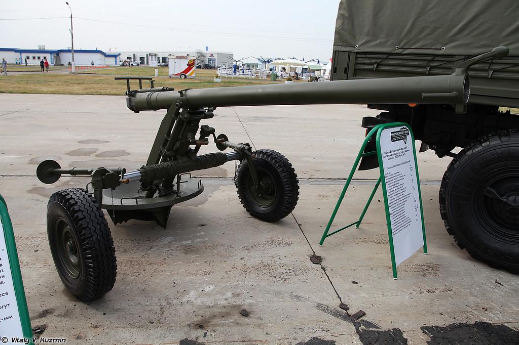 120-мм буксируемый миномет 2Б23 Нона-М1 (120mm mortar 2B23 Nona-M1)