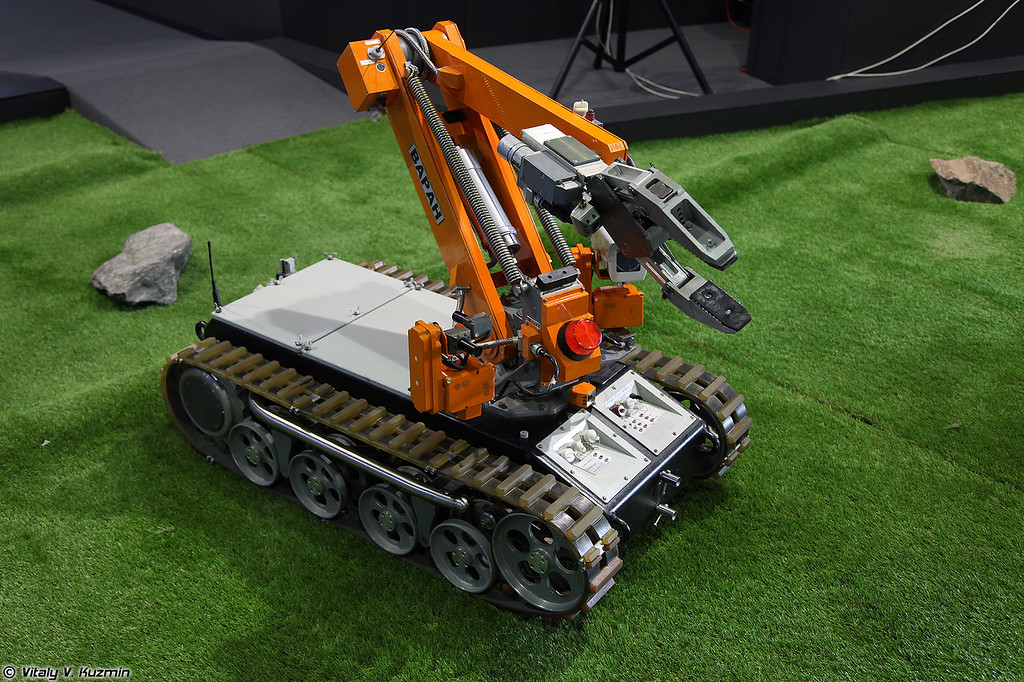 Робототехнический комплекс Варан (Varan robot)