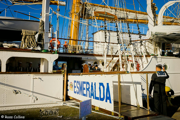 'B.E. Esmeralda' in Wellington, June 2007