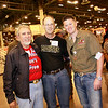 "Lou Frietas, Captain Texas State Patriot Guard Riders, Michael May and Wounded Warrior and member of Combat Marine Outdoors Steve May  <a href=""http://www.combatmarineoutdoors.org"">http://www.combatmarineoutdoors.org</a>"