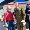 WWII veterans Jim Pfieffer and Harding Boeker