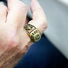WWII ring of Glenn Hammond