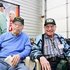 WWII veterans Bob Wilde, Mel Trennary
