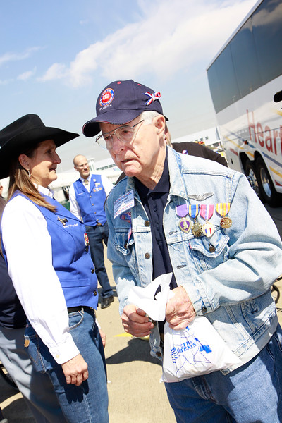 WWII veteran James Brown