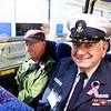 WWII veteran Edward Richard and Bob Heyde