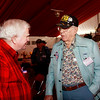 WWII veterans Edwin Fountain and Joseph Smith