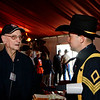 WWII veteran Pete Daughtery and 1st Cav Trooper