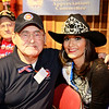 WWII veteran Leopold Ortez and Ms. Houston Rodeo