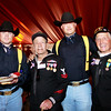 1st Cav Troopers and WWII veterans John Laws and Ike Hargraves. Both John and Ike lied about their age to join the Navy during WWII. John was 15, Ike was 16. Ike would go on to serve for 17 years.