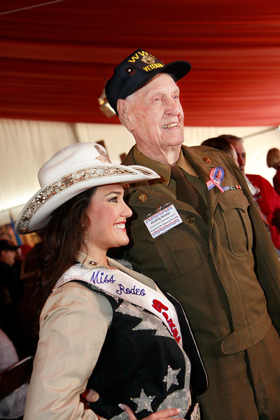 WWII veteran Harding Boeker served as a Quartermaster.