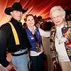 1st Cav Trooper, Event Organizer and President of the Houston Chapter Gold Star Mother's Peggy Slay and Jane Ellis