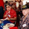 WWII veterans Bob Bray and Pete Hammond.
