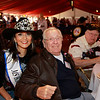 Ms. Houston Rodeo and WWII veteran and POW Renard Kampstra
