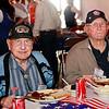 WWII veterans Mel Trennary and Doug Stewart.