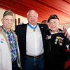 WWII veteran Sam Mattina, Congressional Medal of Honor recipient, Mike Thornton and WWII veteran Ike Hargraves.