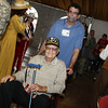 Houston Livestock Show and Rodeo Armed Forces Appreciation Day, WWII veteran Clyde Miller