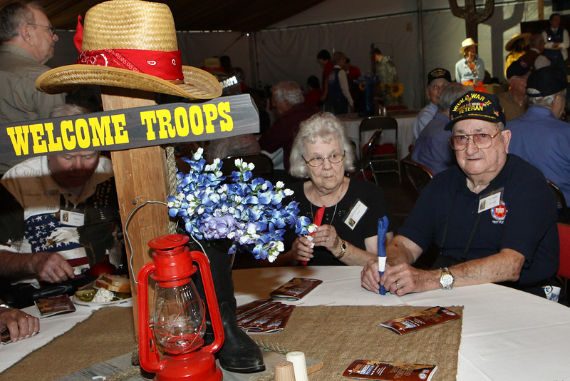Houston Livestock Show and Rodeo Armed Forces Appreciation Day