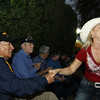 WWII Veterans participate in the Houston Livestock Show and Rodeo Armed Forces Appreciation Day.