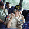 WWII Veterans participate in the Houston Livestock Show and Rodeo Armed Forces Appreciation Day. WWII veteran Raymond Mann.
