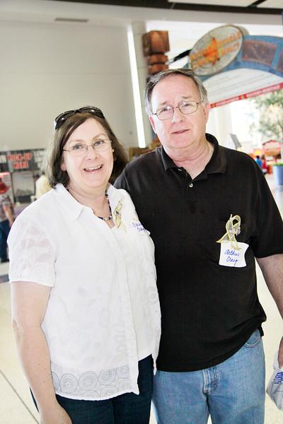 Gold Star parents Mr. & Mrs. Craig