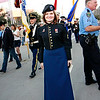 Proud servicemember scheduled to sing the National Anthem later that evening.