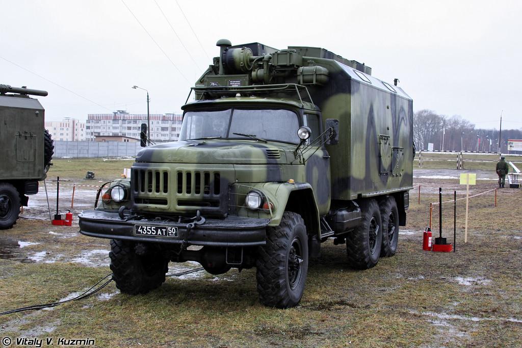 Комплексная аппаратная связи П-240ТМН (P-240TMN signal vehicle)
