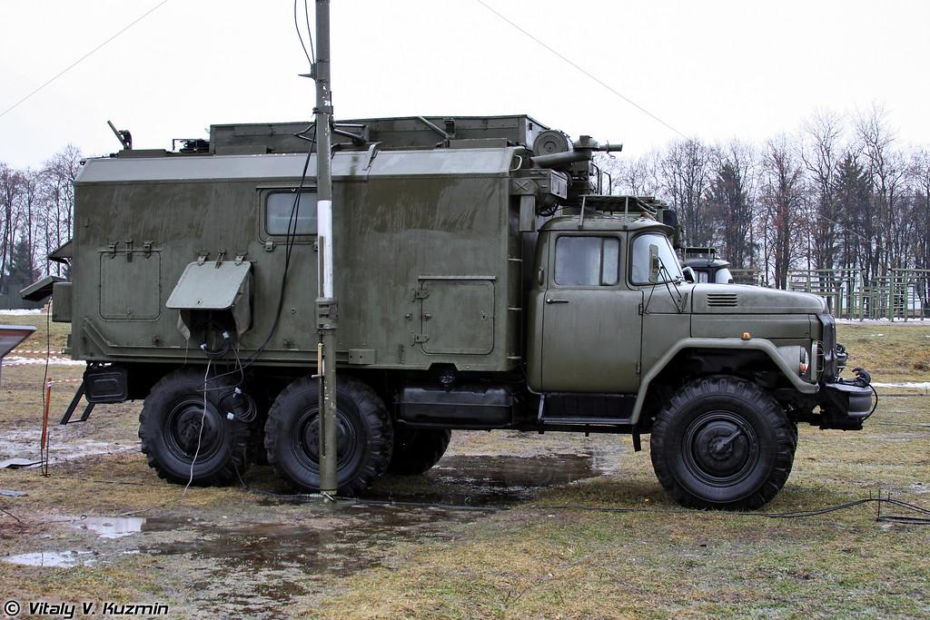 Радиорелейная станция Р-419А (Radio relay station R-419A)