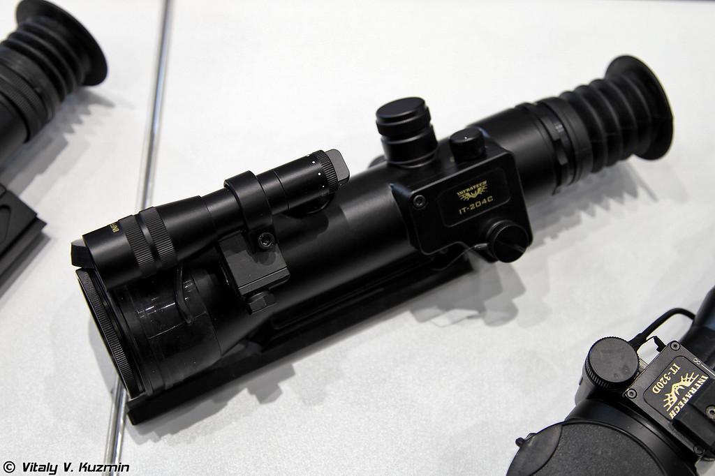 Прицел ночного видения InfraTech IT–204C (Night vision sight IT-204C)