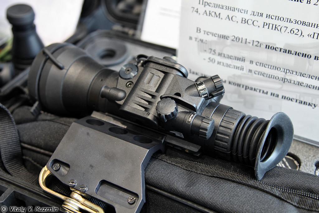 Ночной прицел Наместник, поставлено в 2011-2012 гг. 125 изделий в спецподразделения, из который 75 в ФСБ и 50 в МВД (Namestnik night vision sight)