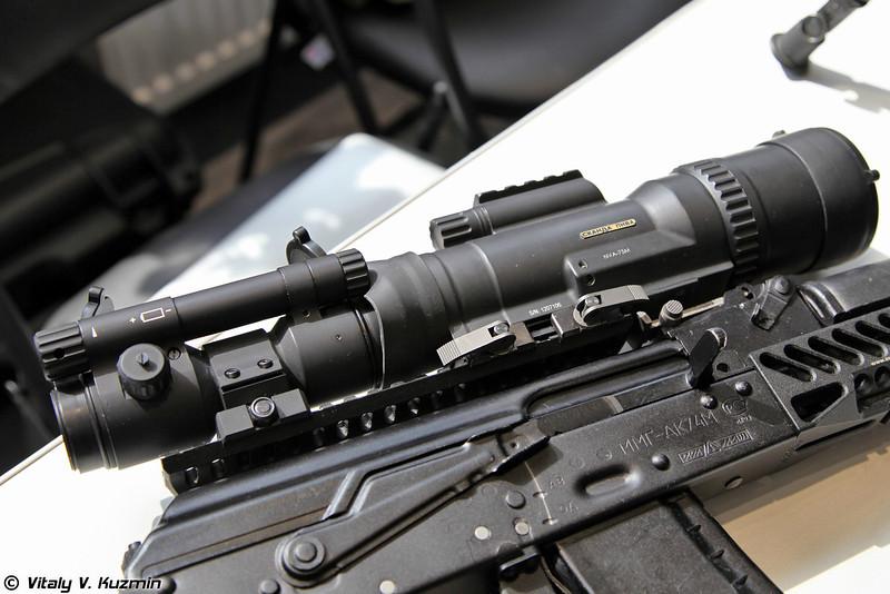 Предобъективная насадка ночного видения Сканда ПНВА-75 (Thermal weapon sight attachment Skanda PNVA-75)