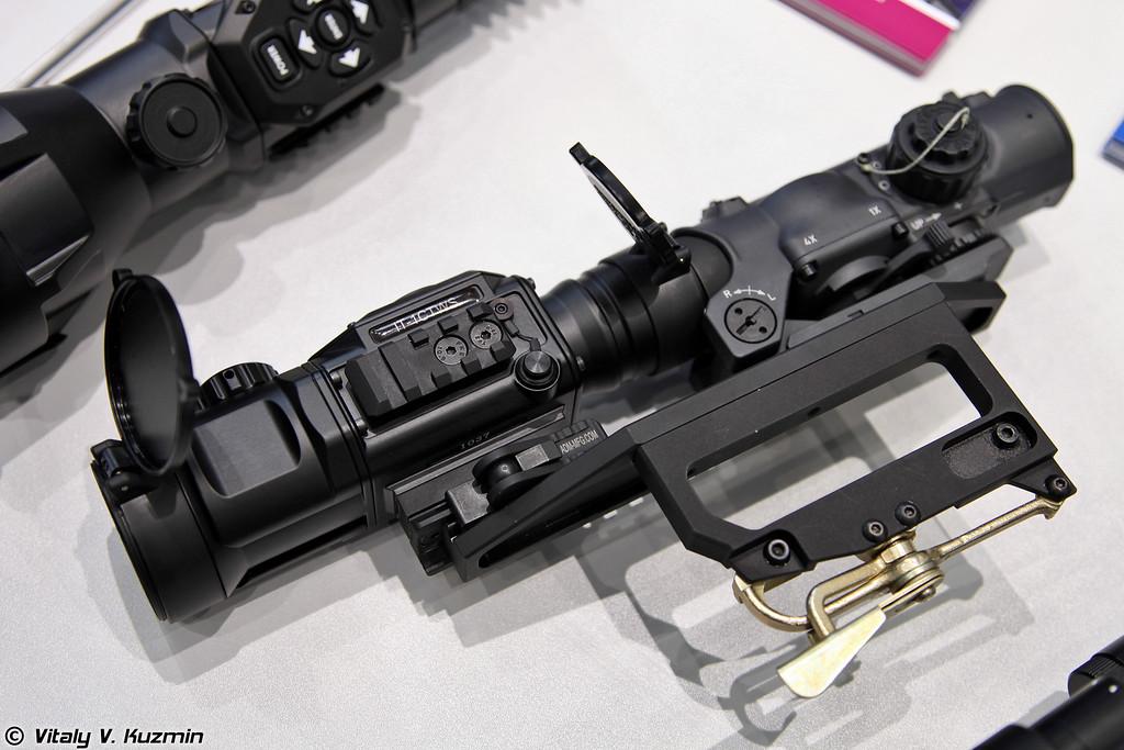 Тепловизионная насадка для дневных прицелов IT-1TCWS (Thermal weapon sight attachment IT-1TCWS)