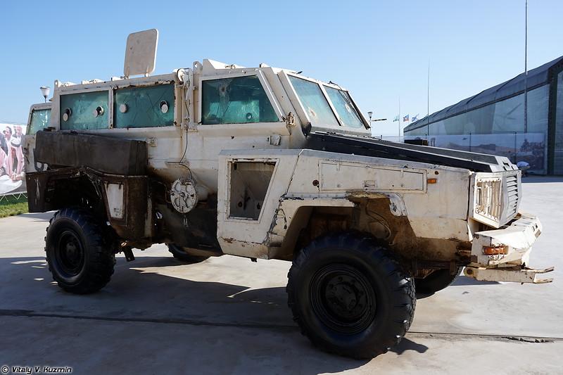 Бронеавтомобиль RG-31 Nyala (RG-31 Nyala armored vehicle)