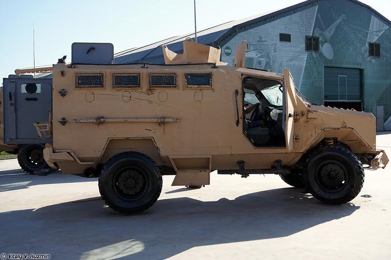 Второй образец бронеавтомобиля Panthera F9 (Panthera F9 armored vehicle)
