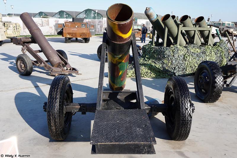 Баллономет кустарного производства (Improvised mortar)