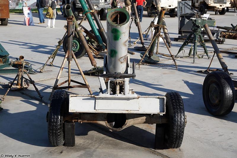 Миномет кустарного производства (Improvised mortar)