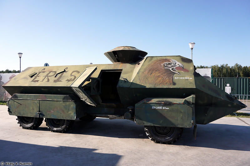 Самодельный бронированный штурмовой автомобиль YPG Eagle Head (YPG Eagle Head improvised armored assault vehicle)