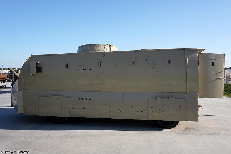 Самодельный бронетранспортер на базе Isuzu Elf (Improvised APC on Isuzu Elf base)