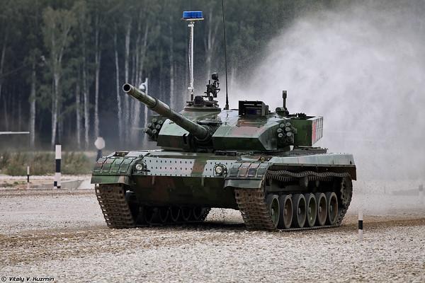 The Final of International Tank Biathlon 2015 competition